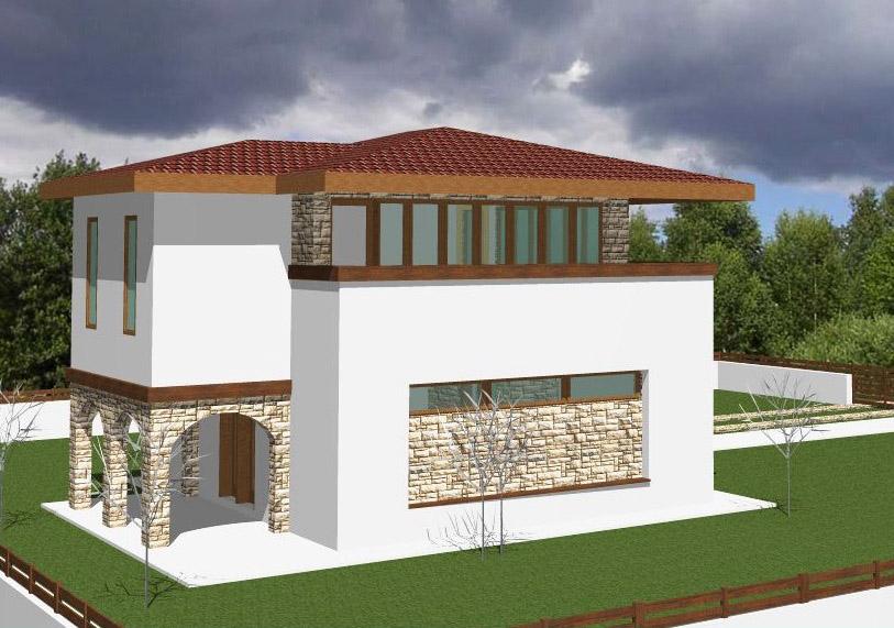 Proiect casa Luana