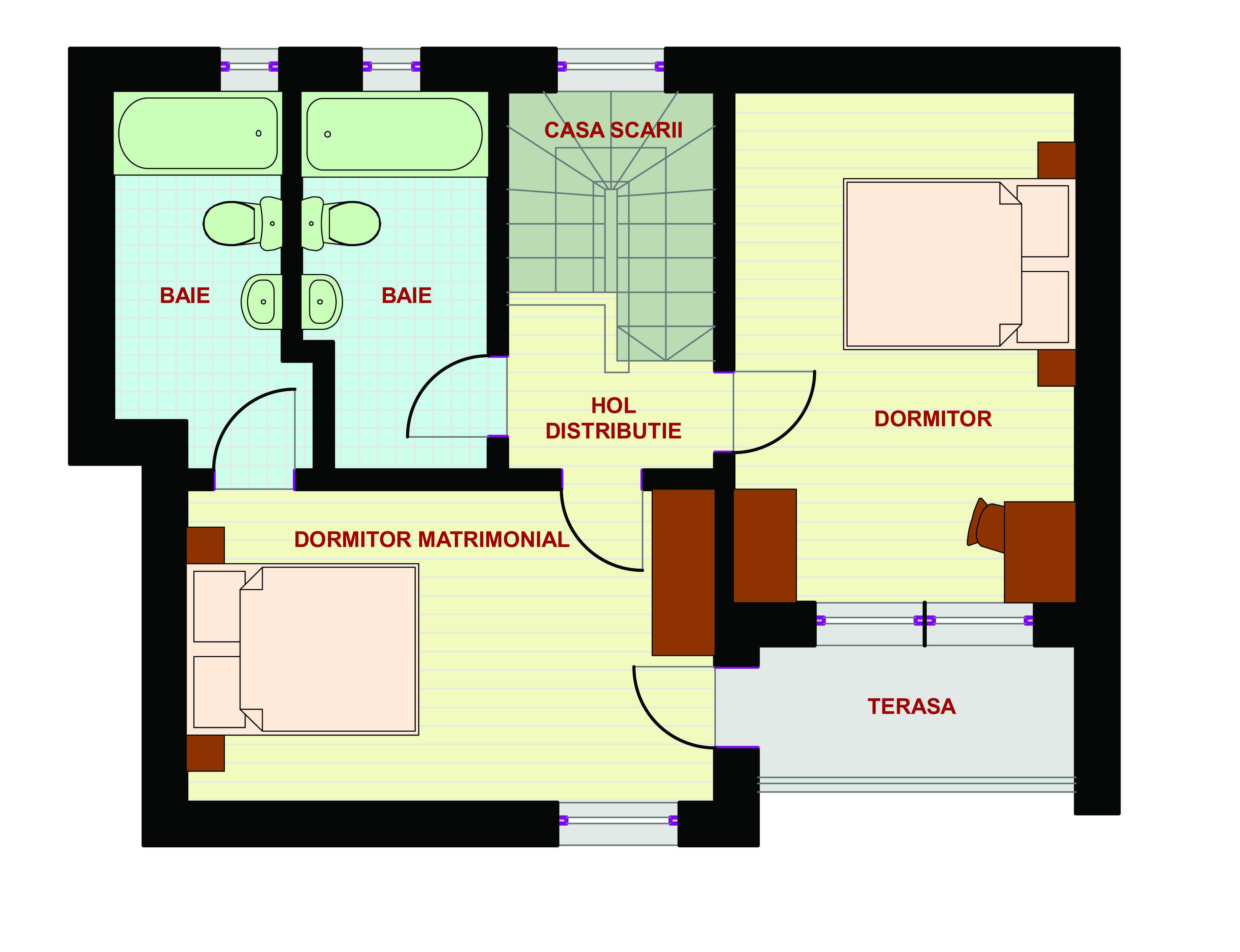 Proiect casa domnesti magazinul de proiecte for Planuri de case
