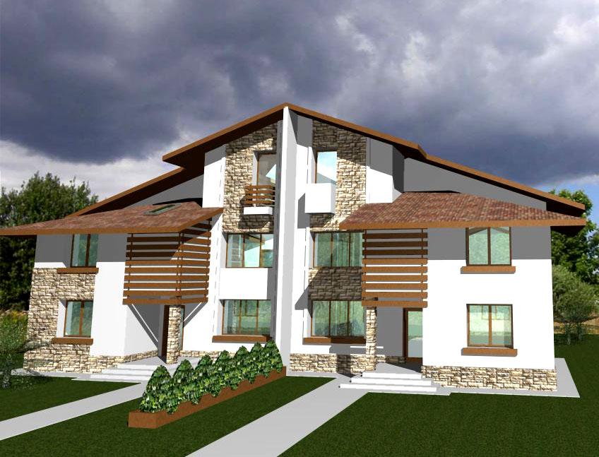 Proiect casa larisa magazinul de proiecte for Modele de duplex